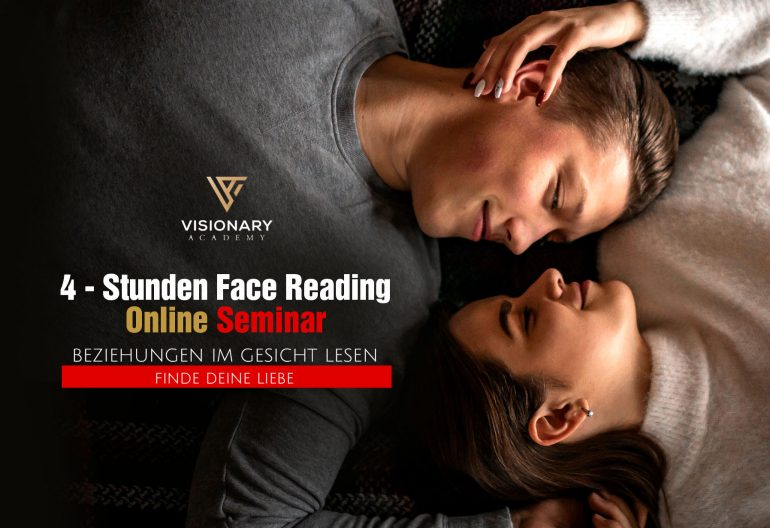 Beziehungen im Gesicht lesen, Beziehungen im Gesicht lesen – Face Reading Online Seminar